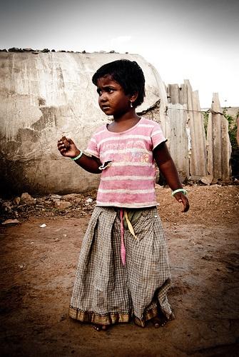 Child of Mumbai's Slum