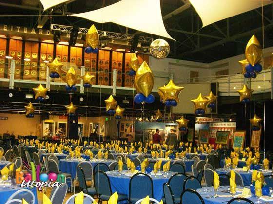 sports banquet centerpieces | San Diego Centerpieces by Event Decor Experts Balloon Utopia