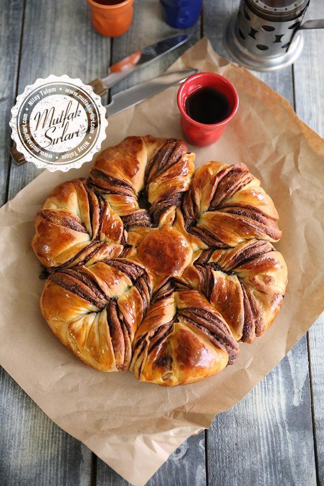 Çikolatalı Yıldız Çörek Tarifi | Mutfak Sırları