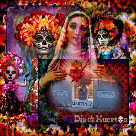 DODGrandparent2_web by Lisa Dolan Xquizart Art Dolls & papers