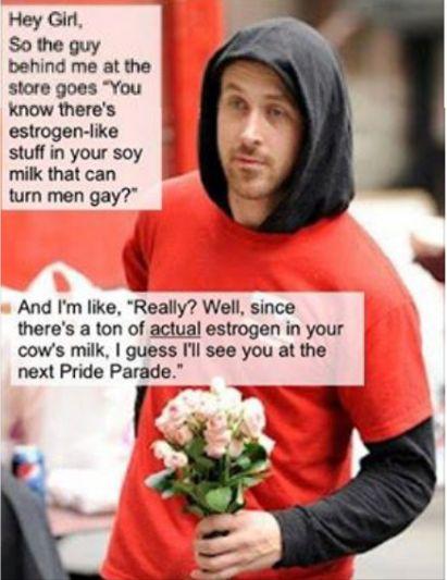 Soy Milk Gay 38