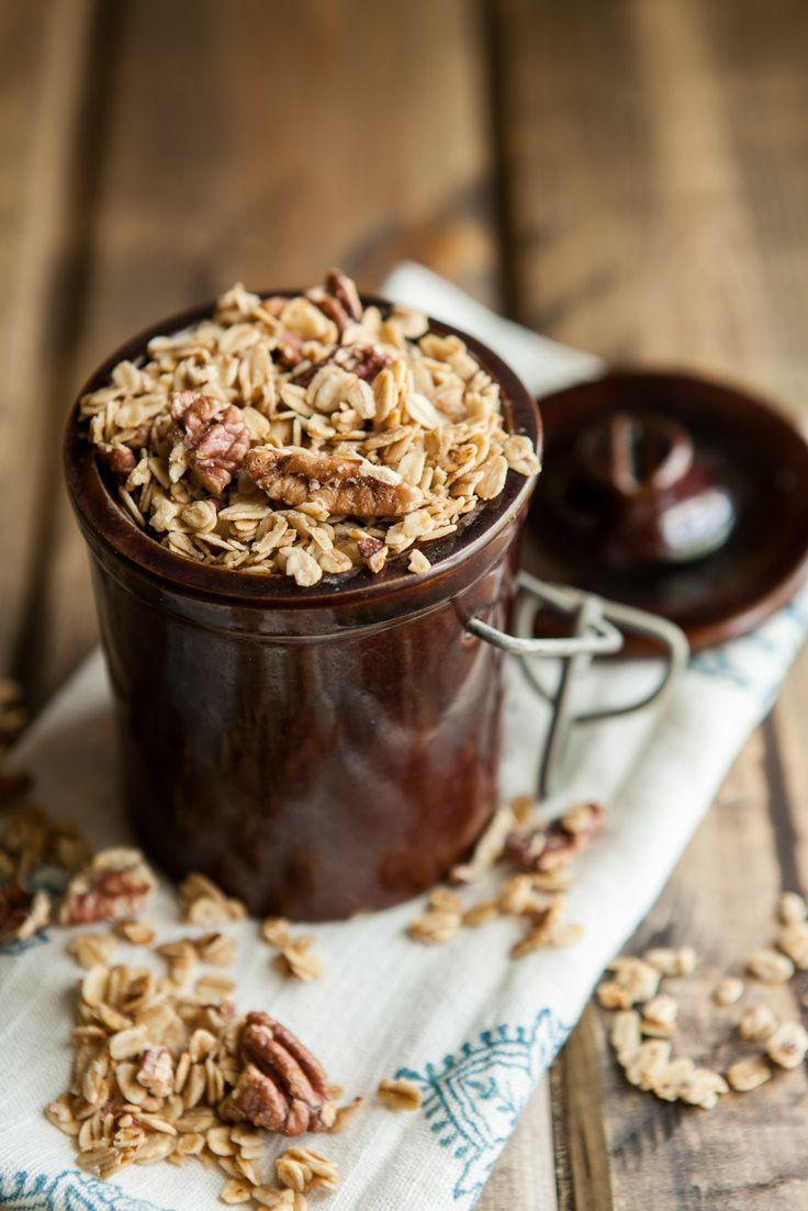 Maple Pecan Granola | Recipe