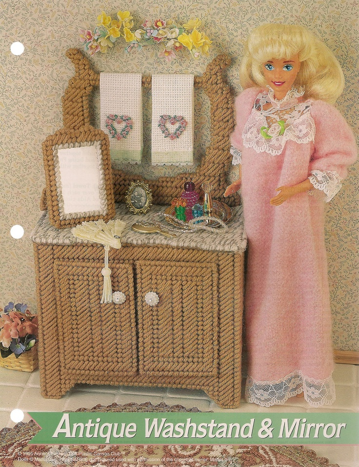 199 Best Images About Plastic Canvas Furniture On Pinterest Plastic Canvas Barbie Kelly And