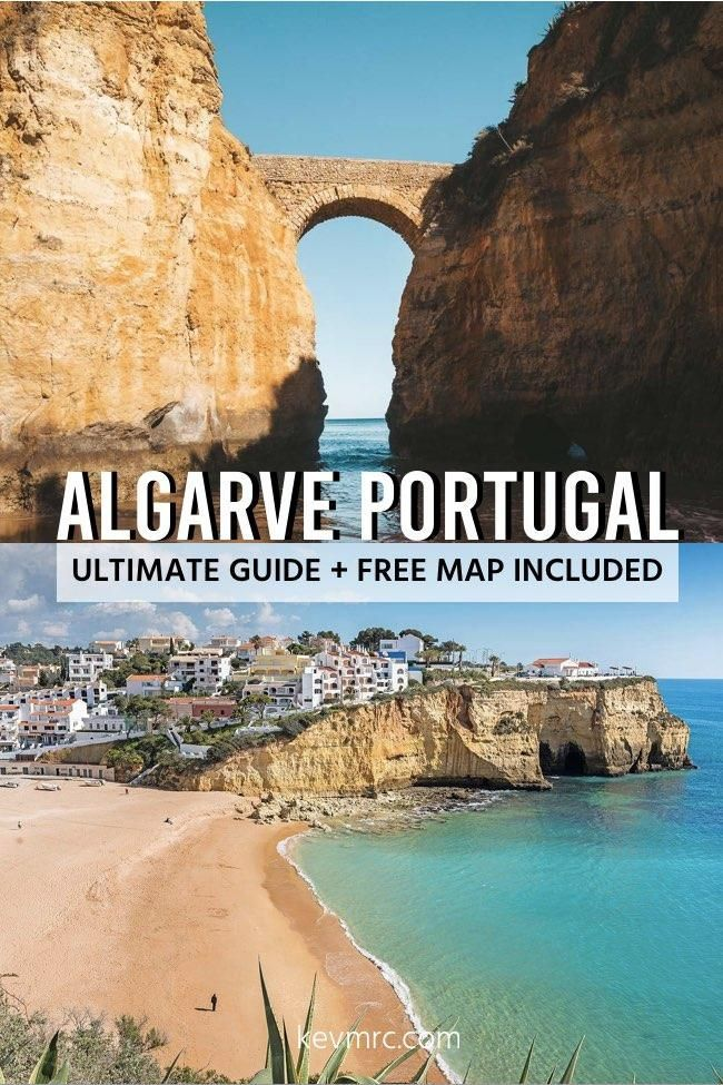 36 Best Places To Visit In Algarve Portugal Free Map