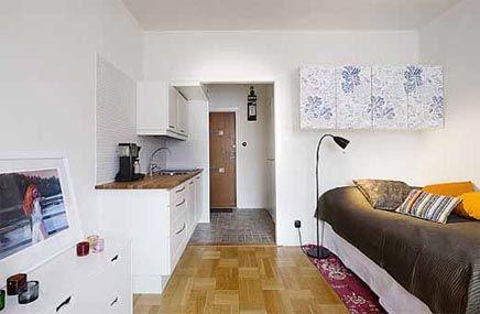 25 beste idee n over kleine appartementen op pinterest studio appartementen kleine ruimte - Layout klein appartement ...