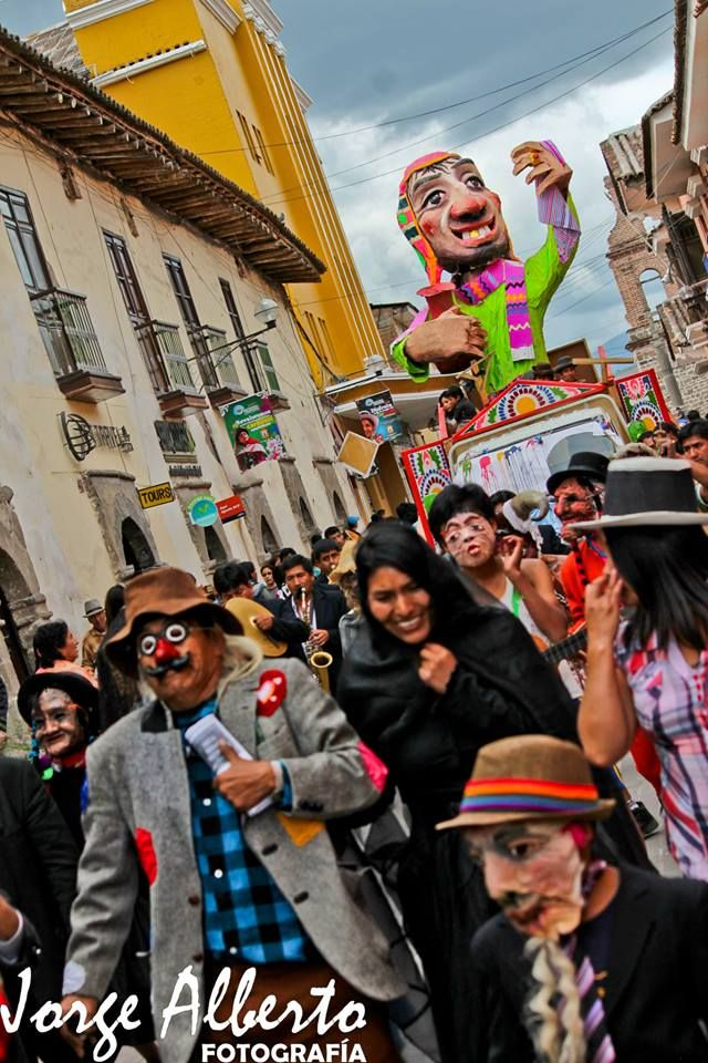 Carnaval Ayacuchano 2014 -Foto cortesia de Jorge Alberto