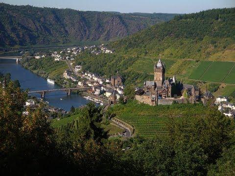 Cochem dans la Moselle en Allemagne