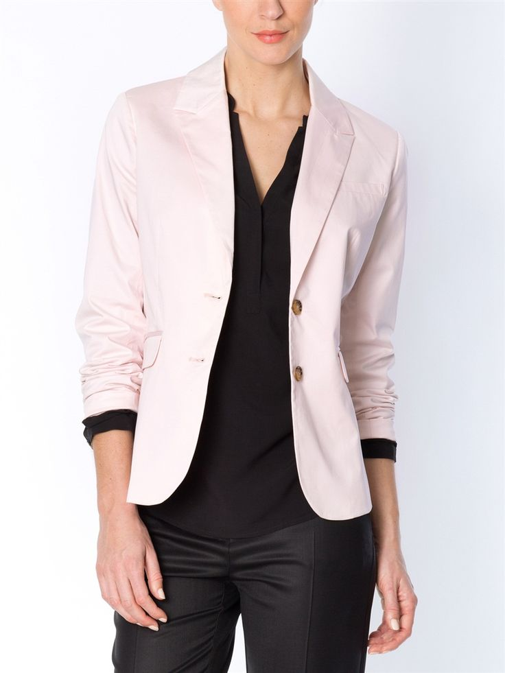 veste tailleur femme en satin de coton marque cyrillus. Black Bedroom Furniture Sets. Home Design Ideas