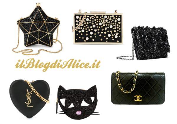 L'ultimo dell'anno si avvicina, cosa indosserai? Che accessori hai scelto? Ti propongo alcuni modelli di borsa davvero fashion, perfette per la notte di San Silvestro. Tu quale preferisci? #nottedicapodanno #nottedisansilvestro #outfitdicapodanno #outfit #ultimodellanno #veglionedicapodanno http://www.ilblogdialice.it/scegli-la-tua-borsa-fashion-per-capodanno/