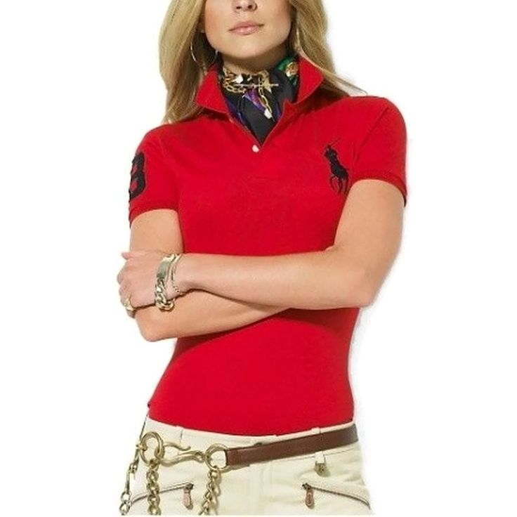 Polo Ralph Lauren Womens Shirt Big Pony