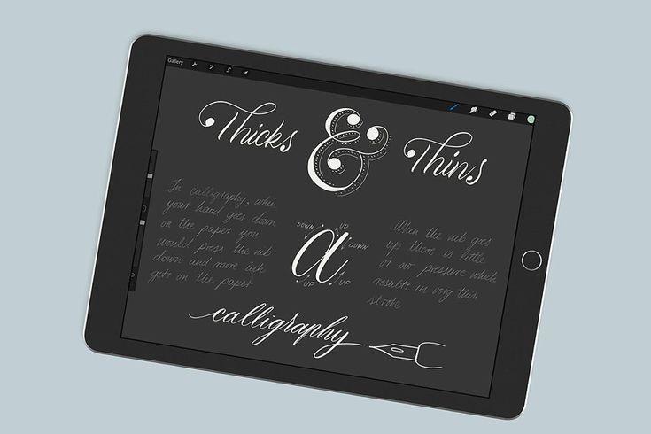 Download Ad: Procreate Lettering Starter Pack by LePunktNoir on ...