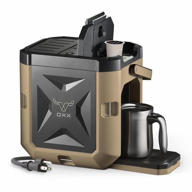 CoffeeBoxx Single Serve Coffee Maker, Desert Tan