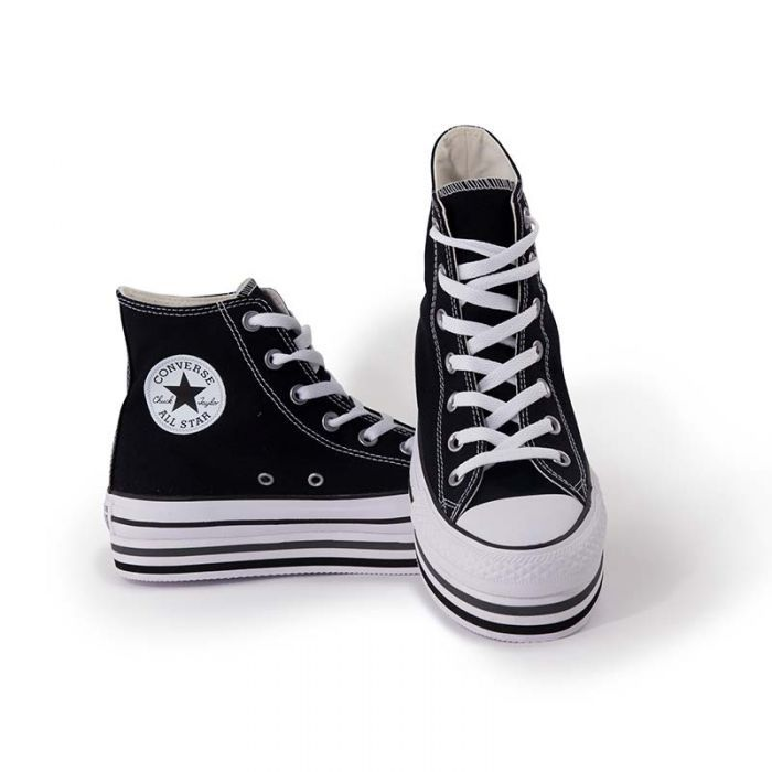 converse all star platform donna alte