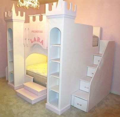25 best ideas about playhouse bed on pinterest kura bed hack kura bed and ikea baby bed - Unique girls bunk beds ...