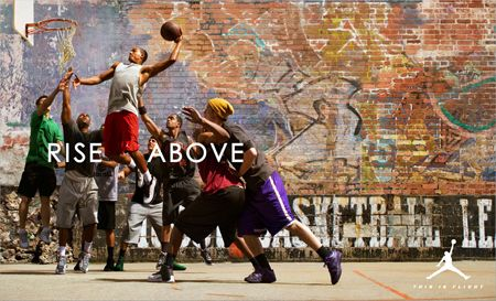 Embry Rucker Rise Above for Air Jordan | Why do we always want ...