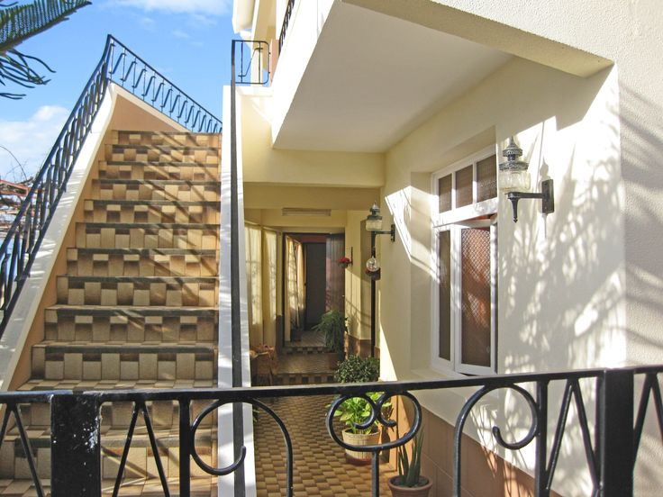 Outdoor corridors and plenty of windows offer ocean views from almost every room. Madeira, Portugal homes for sale