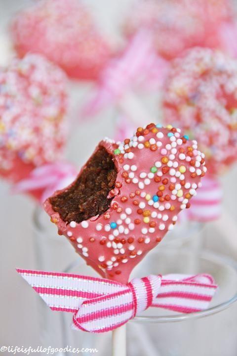 Valentine´s Cake Pops