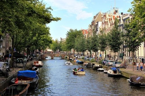Canals in Amsterdam | The Netherlands