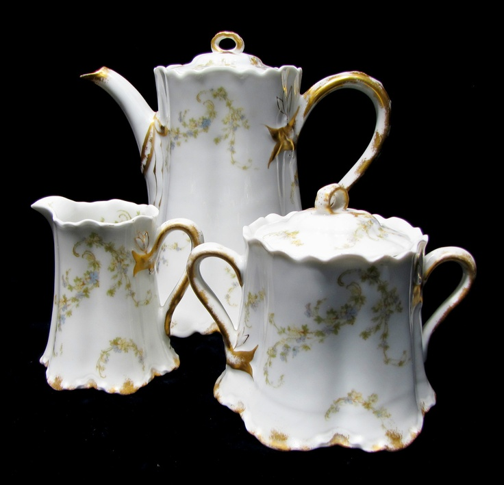 Lovely Dreamy And Elegant Vintage Limoges Haviland Tea Set