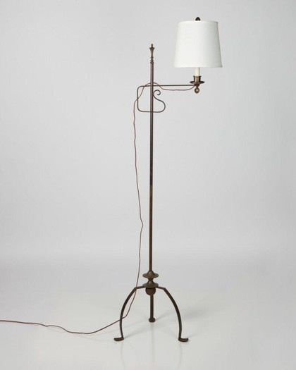 Wrought Iron Floor Lamps Pleasing 8 Best Lamps Images On Pinterest  Blacksmithing Floor Lamps And Design Inspiration