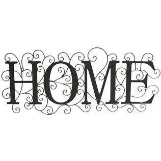 Black Home Metal Scroll Decor | Shop Hobby Lobby