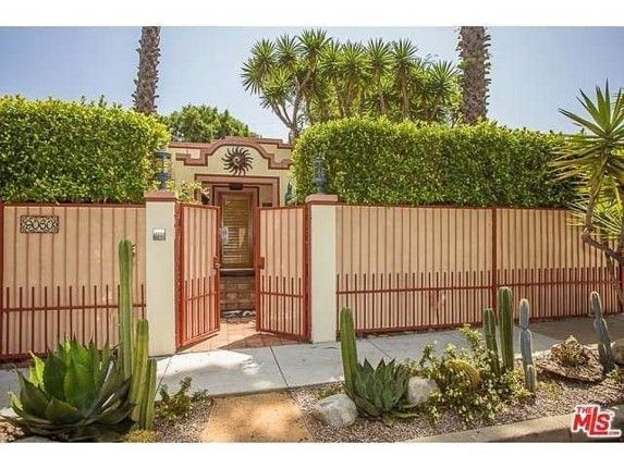 Dolly Parton's Hollywood House Is All Country.  Natalie Wood grew up in this little house on 9060 Harland Ave, West Hollywood.