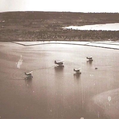 Formentera, hidroaviones.