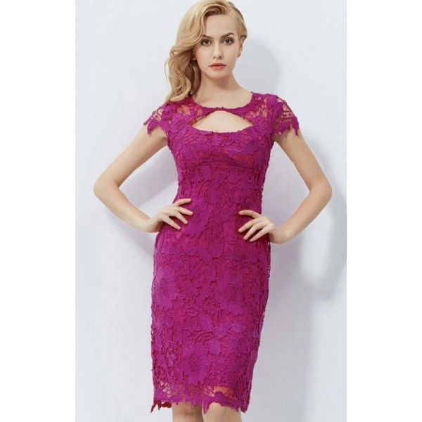 Uras Lace Evening Dress