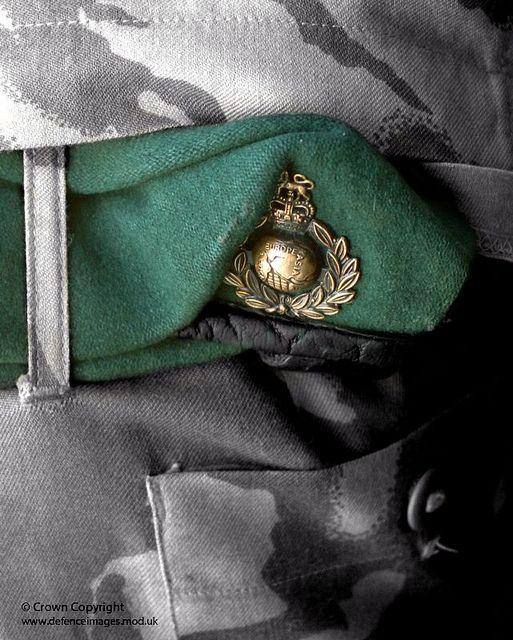 Royal Marine Beret by Defence Images, via Flickr