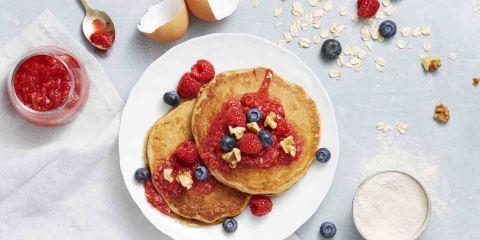 Whole-Grain Berry Pancakes | Recipe | Grains, Pancakes and Brunch