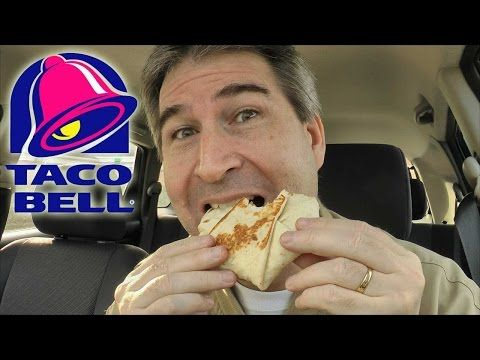 Taco Bell NEW BLT Crunchwrap Sliders REVIEW - YouTube