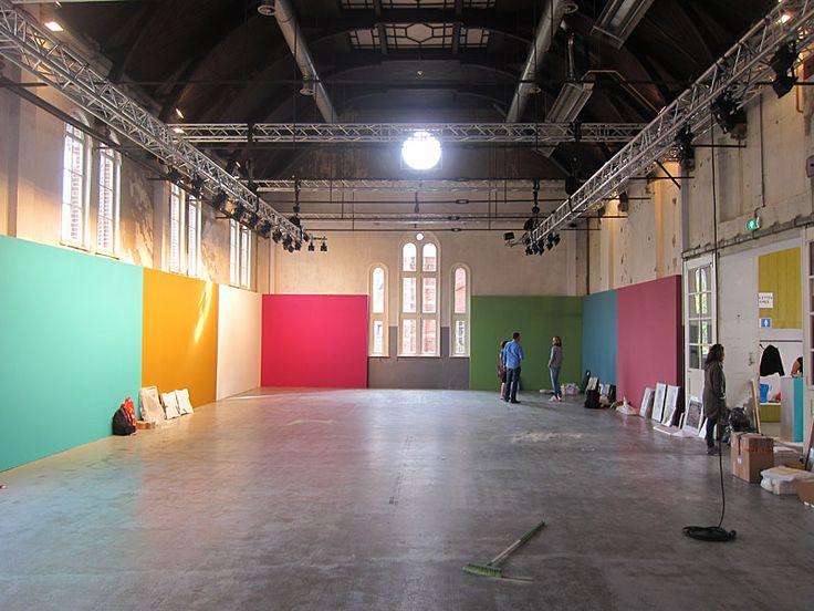 Opbouw We Like Art @ Westergas http://trendbeheer.com/wp-content/uploads/2013/09/welikeart-@-westergas.jpg