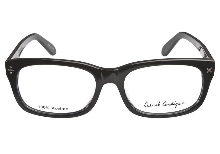 Derek Cardigan 7003 Black | It's Your Lucky Day! Love this frame? Re-pin it for your chance to win it!