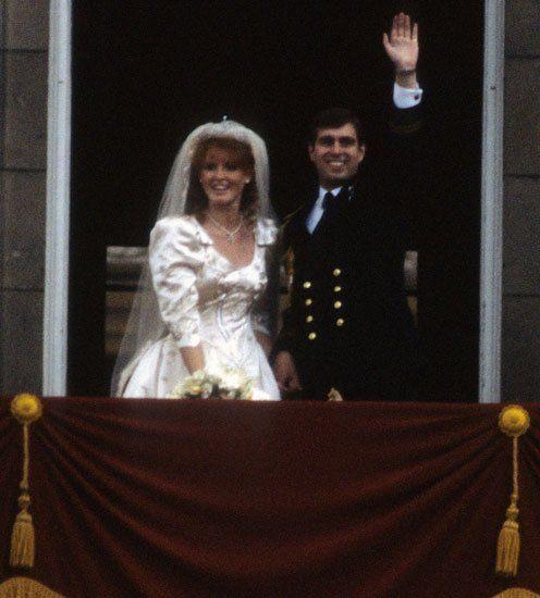 23. Juli 1986: Prinz Andrew und Sarah Ferguson