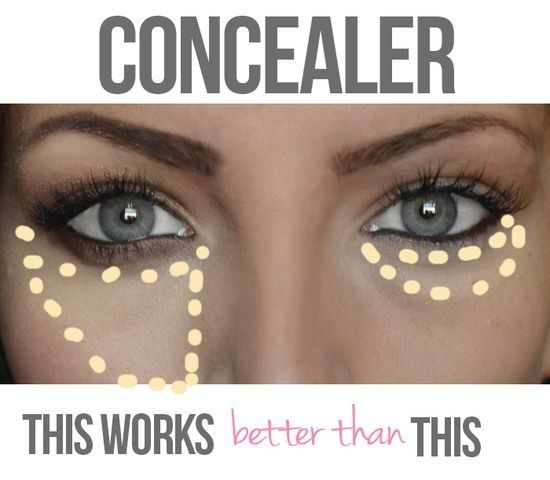An easy way to look less tired? Use your concealer correctly.