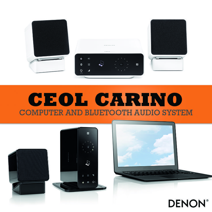 New Denon mini stereo with Bluetooth streaming options and USB input for direct PC connection. Meet CEOL Carino...  http://sonusart.hr/novosti/denon-ceol-carino-bluetooth-mini-linija-za-racunalo/