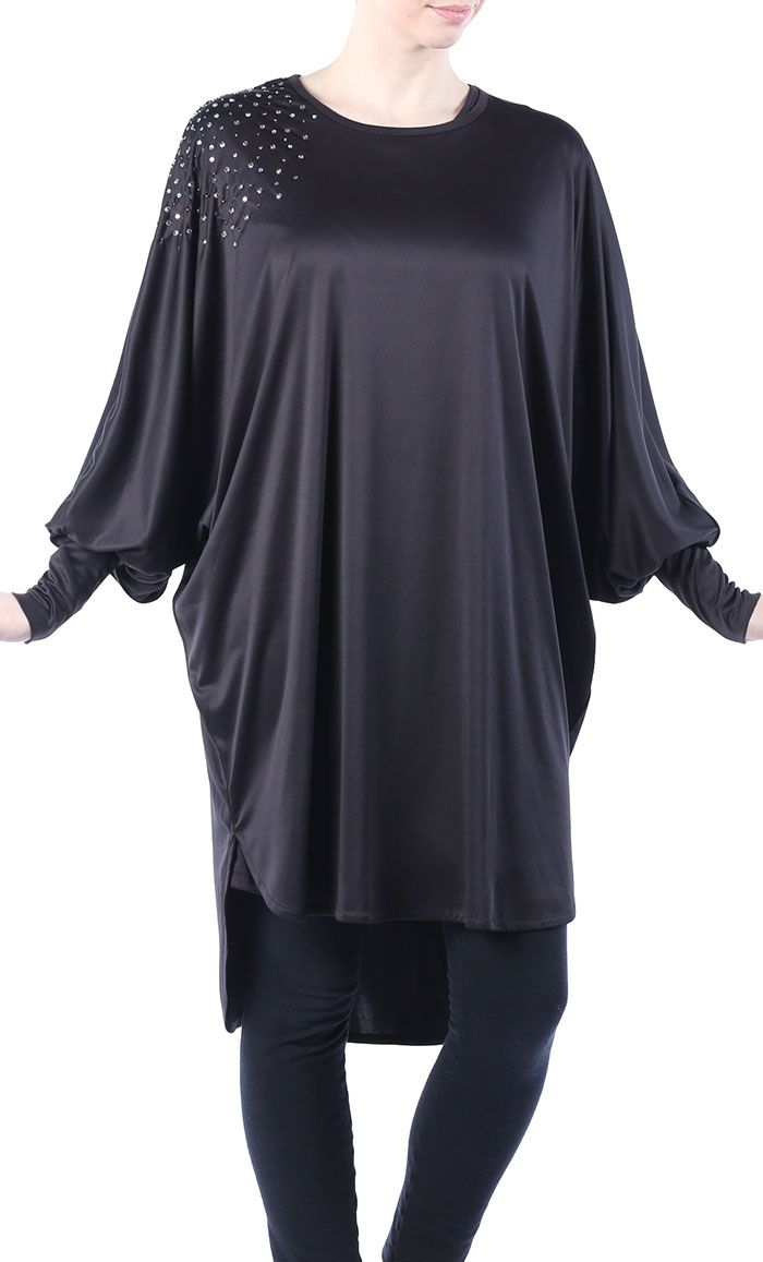 Sequin Butterfly Tunic