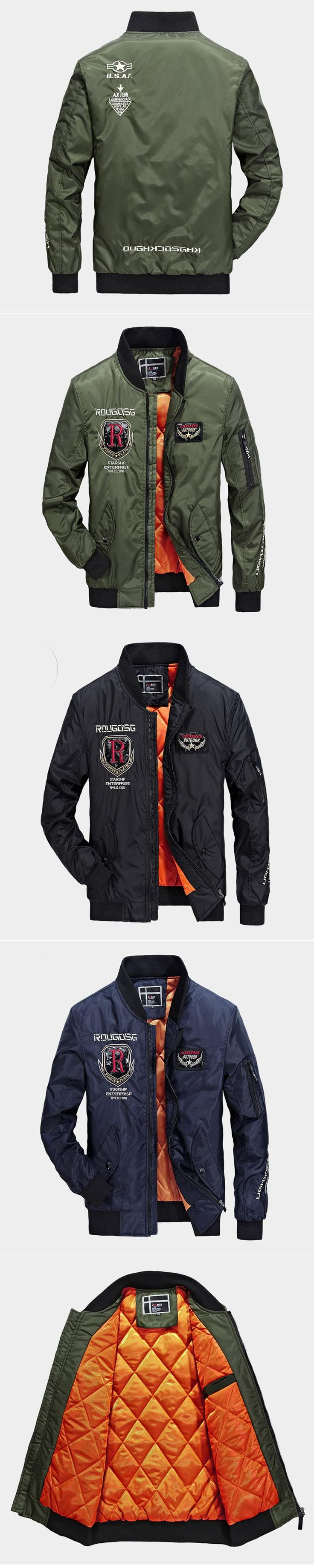 The air force jacket cortavientos veste homme ma1 bomber jacket mens coats jacket men reflective jacket veste homme hiver 62