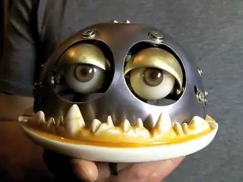 Puppet Mouth Mechanism - YouTube