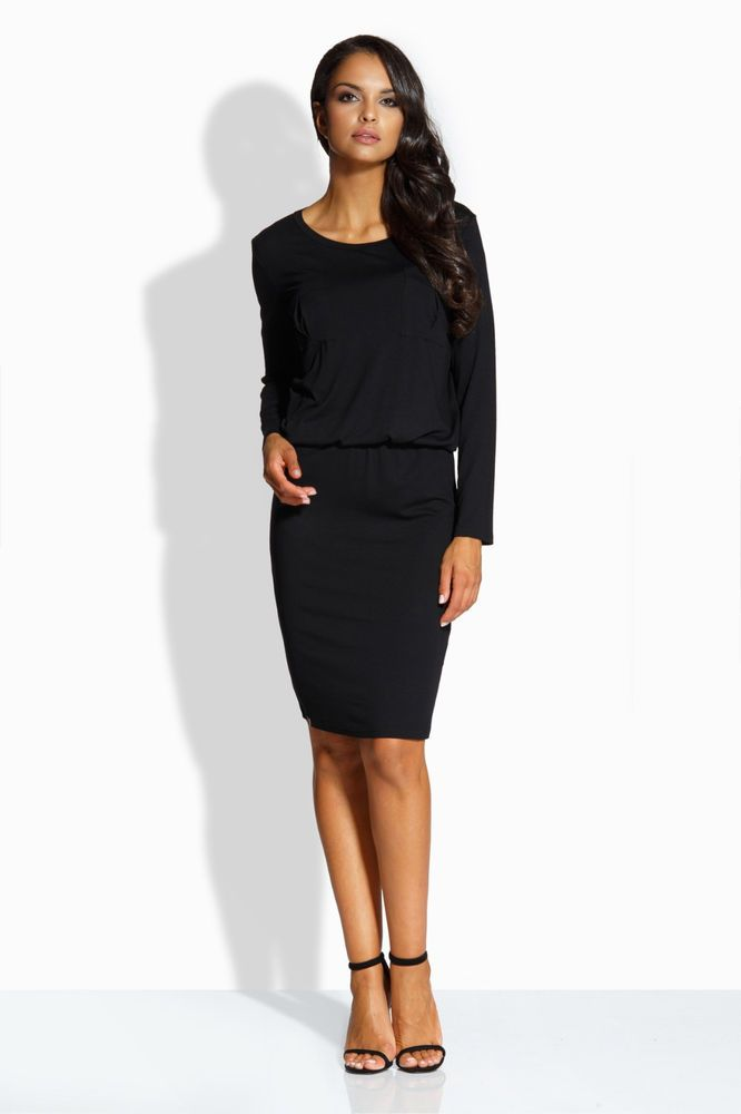 1c407358692 Robe noir elegante robe courte chic et classe
