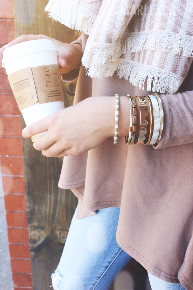 Shine on with a NEW Monogrammed Scallop Cuff Bracelet!
