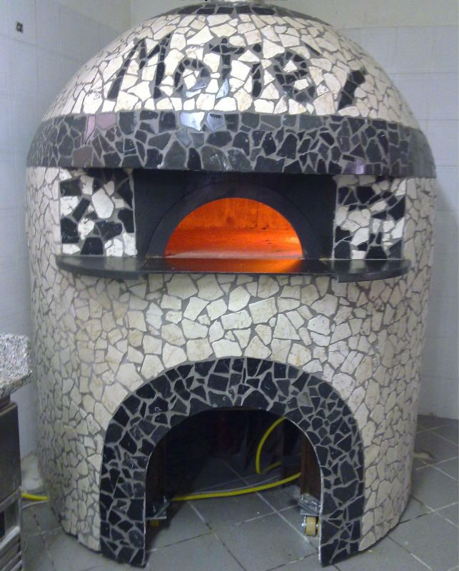 Handmade Wood-fired oven for pizza Made in Italy $5000~$7000