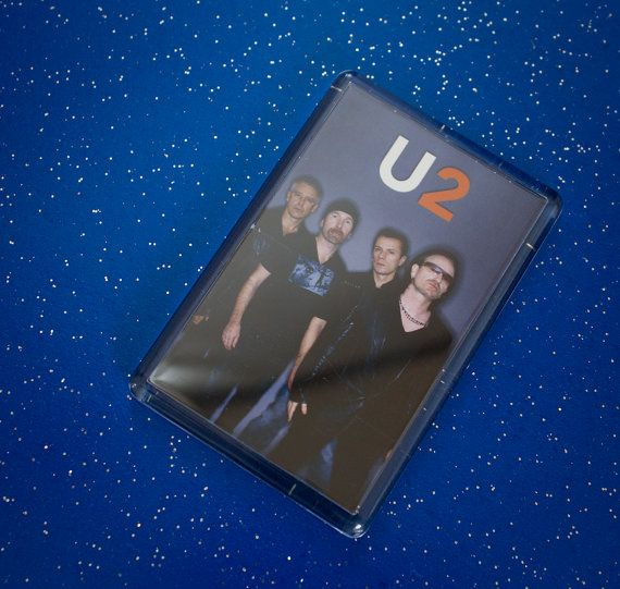 Great U2 Fridge Magnet by WeeHings on Etsy