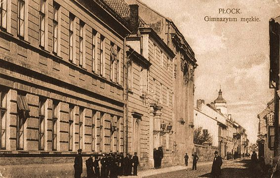 Płock - Fotogaleria miasta Płocka - XIX w. - 1939 r./Małachowianka 1920r. najstarsza szkoła średnia w Polsce