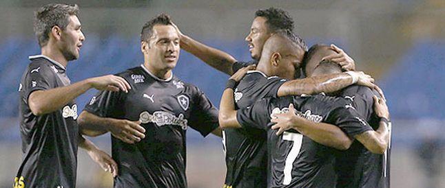 BotafogoDePrimeira: Com falha bisonha de goleiro rival, Botafogo vence...