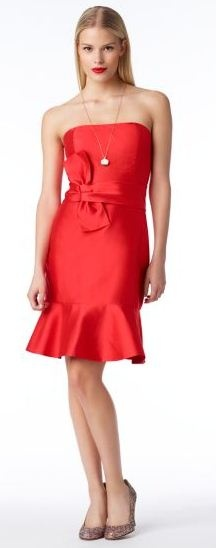 Coral Cocktail Dress | Kate Spade