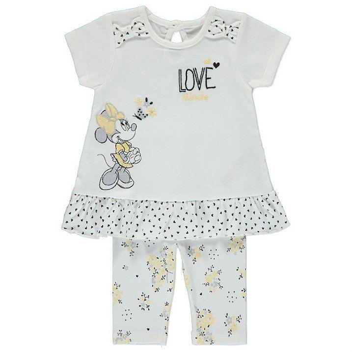 Disney Minni Hiiri vauvan paita & legginsit setti