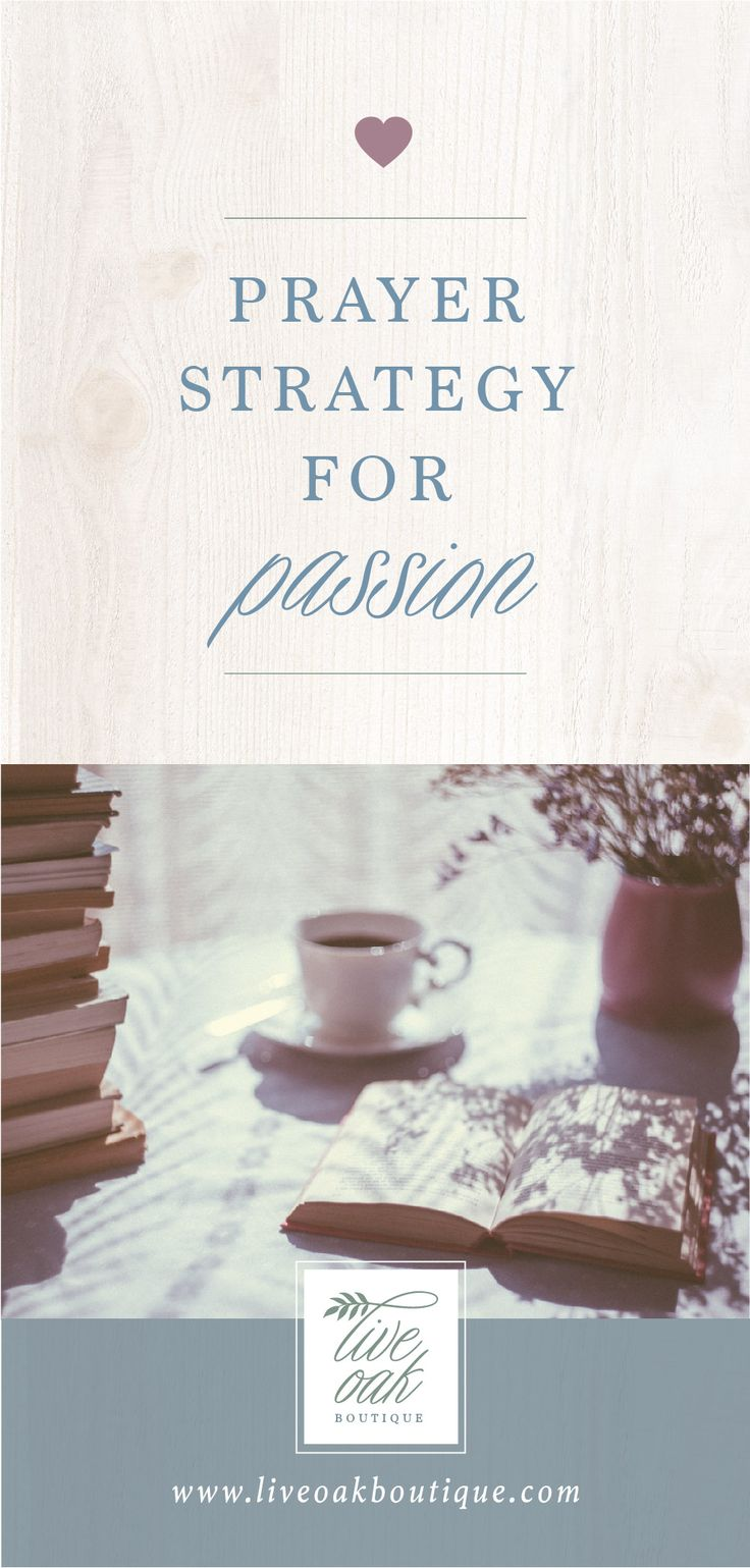 Create A Prayer Strategy For Passion! Weu0027re Working Through The Book Fervent  By