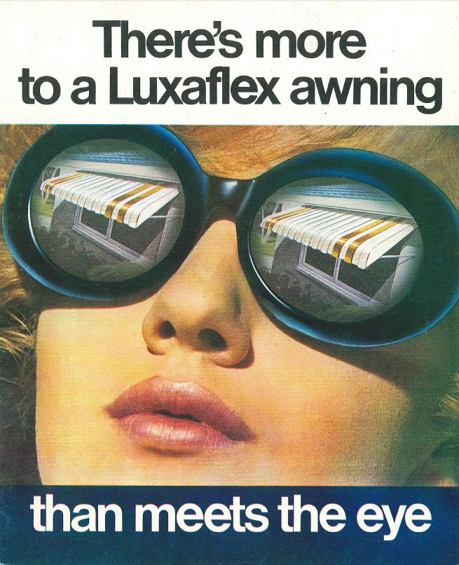 Can you guess what year this is from? #luxaflex60 #vintage