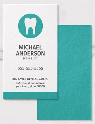 36 best Dental business cards images on Pinterest | Dental ...